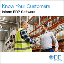 Know Your Customers. Inform ERP Software