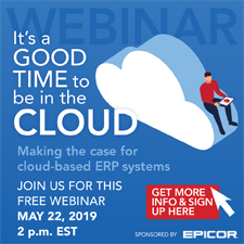It's a Good Time to be in the Cloud Webinar