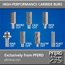 PFERD carbide burs