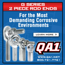 QA1 G Series 2 piece rod ends
