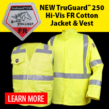 TruGuard 250 Hi-Vis FR Cotton Jacket & Vest