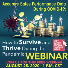 Accurate sales performance data during COVID-19