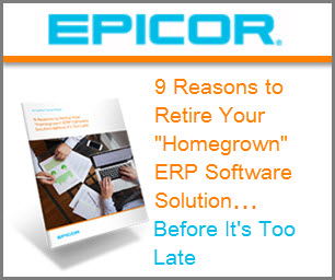 "9 Reasons to retire your ""homegrown"" ERP Software"
