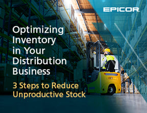 Optimizing inventory in your distribution business