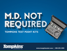 Tompkins test point kits